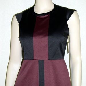Marc New York NWT Cap Sleeves Colorblock Dress